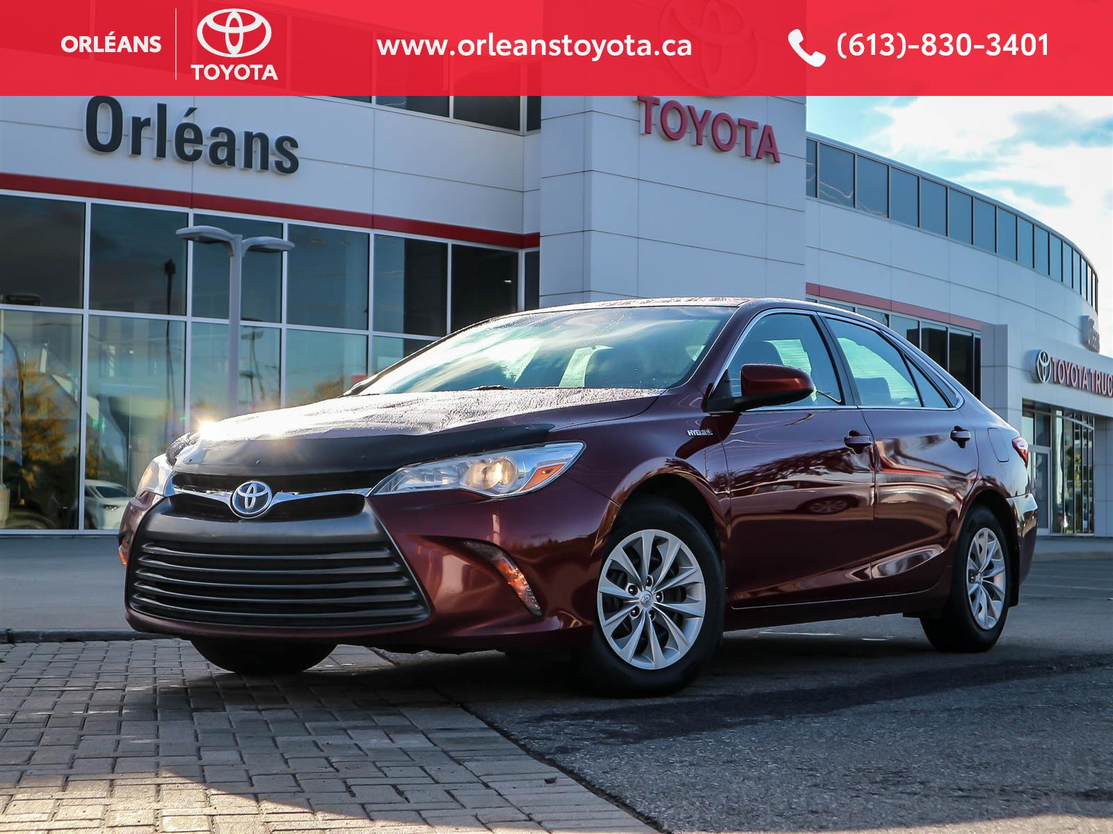 2017 Toyota Camry Hybrid at Orleans Toyota