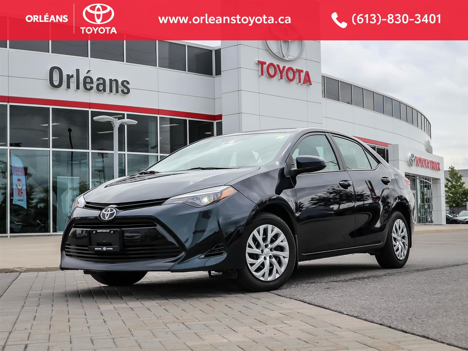 2017 Toyota Corolla at Orleans Toyota