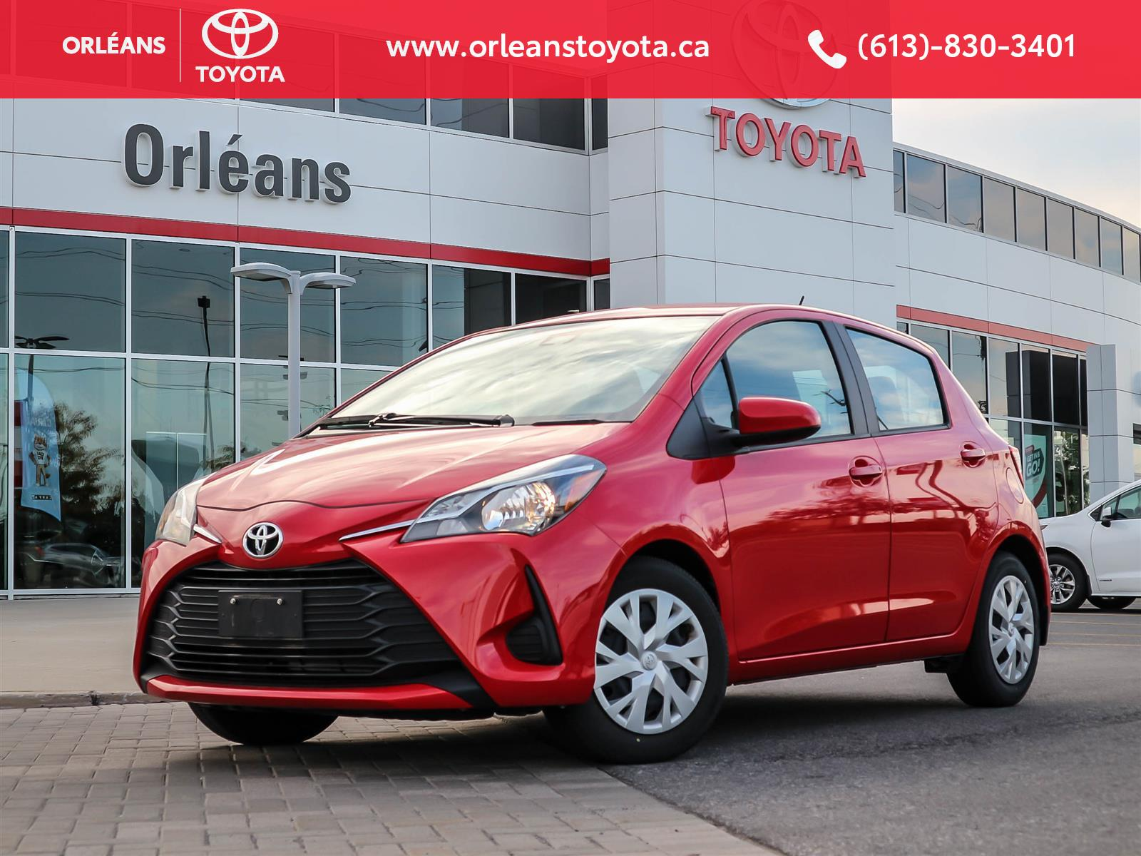 2018 Toyota Yaris at Orleans Toyota